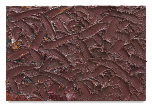 , 'Abstract Diptych #28,' 2016, Miles McEnery Gallery