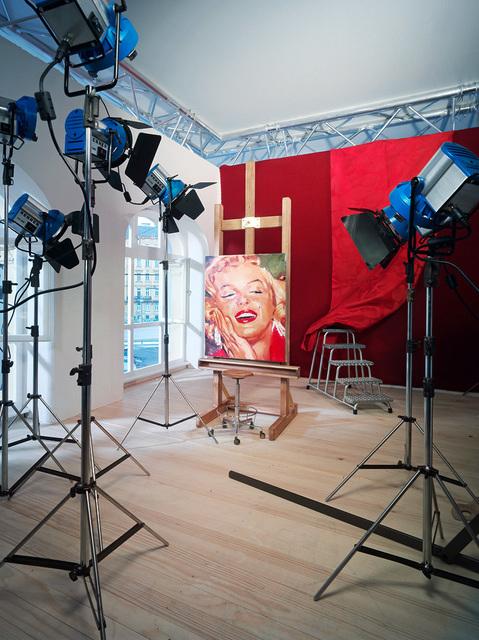 , 'Portrait Marilyn Monroe IV,' 2009, Galerie Schimming