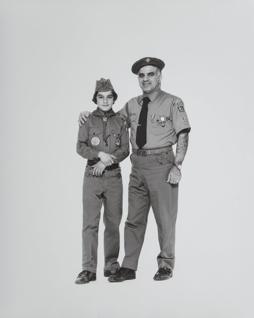 Elliott Erwitt, 'Corning Boy Scout and Scout Master', 1976, Heritage Auctions