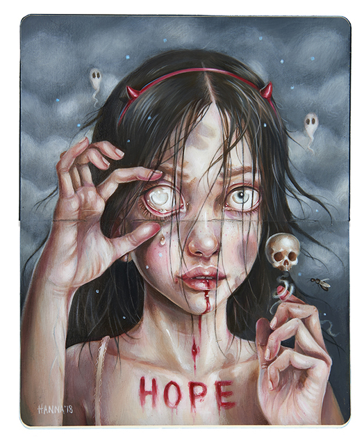 , 'Hope Never Dies,' 2018, Spoke Art
