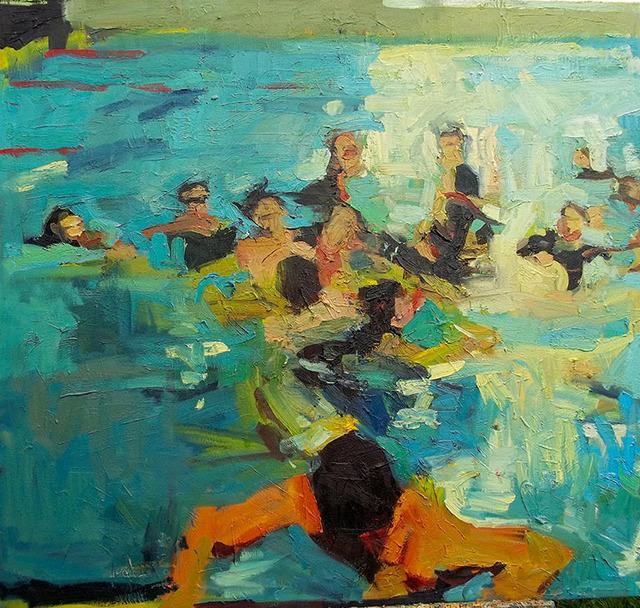 Jennifer Pochinski, 'The Big Swim', 2013, Dolby Chadwick Gallery
