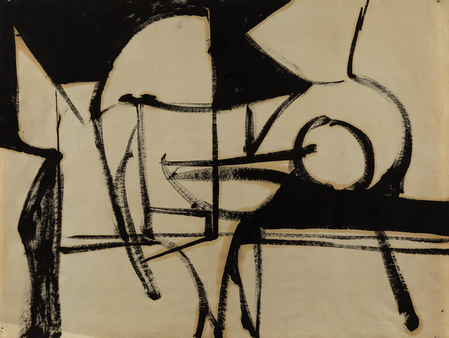 , 'Untitled (50-26),' ca. 1950, Berry Campbell Gallery