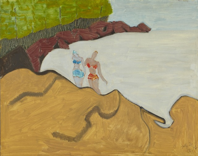 , '[Bathers on the Rocks],' 1963, Childs Gallery