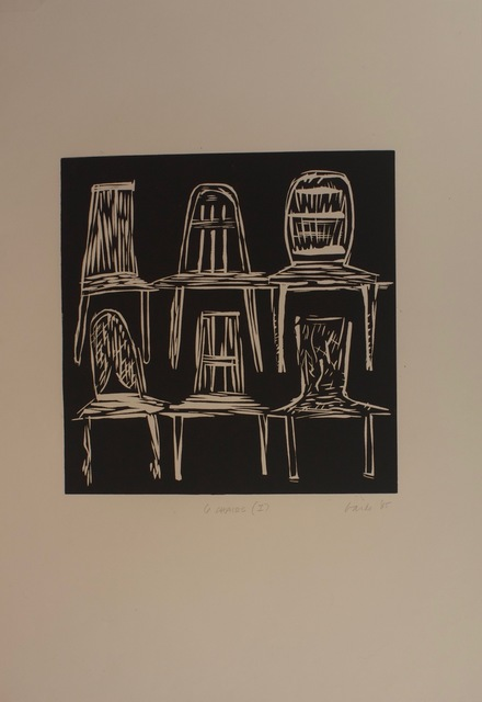 , 'Six Chairs, Edition 1,' 1985, ArtSuite New York