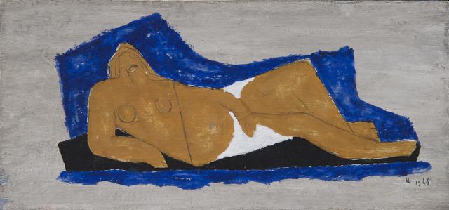 , 'Femme nue allongée,' 1924, HELENE BAILLY GALLERY