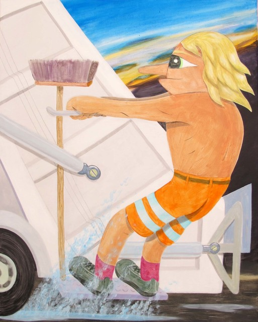 , 'TRASH SURFING,' 2015, V1 Gallery
