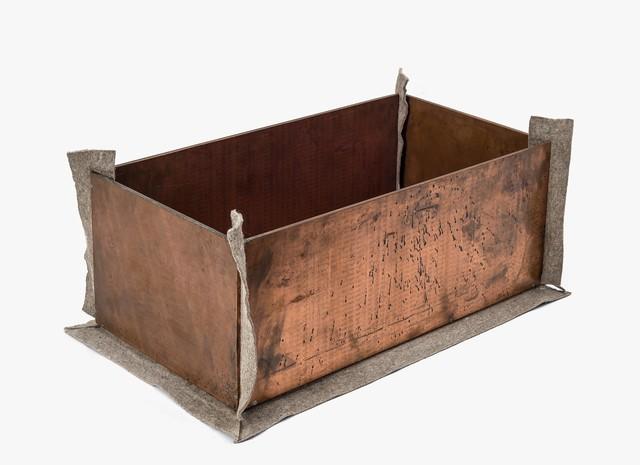 , 'dumme Kiste (dumb box),' 1983, Galerie Thomas