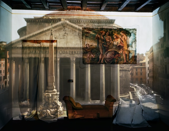 , 'Camera Obscura: The Pantheon in Hotel Albergo del Sole Room #111, Rome, Italy,' 2008, Edwynn Houk Gallery