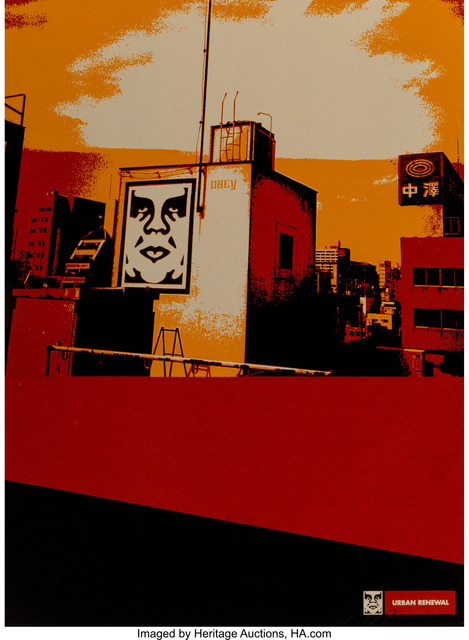 Shepard Fairey (OBEY), 'Osaka Roof, from Urban Renewal Series', 2000, Heritage Auctions