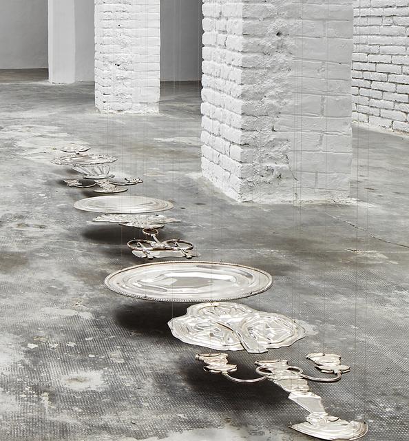 , 'Rorschach (Endless Column IV),' 2012, Galeria Carles Taché