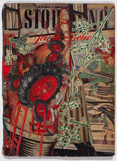 , 'Red Hand,' 2016, TAI Modern