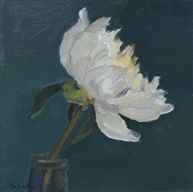 , 'Peony in Profile,' 2017, Grenning Gallery
