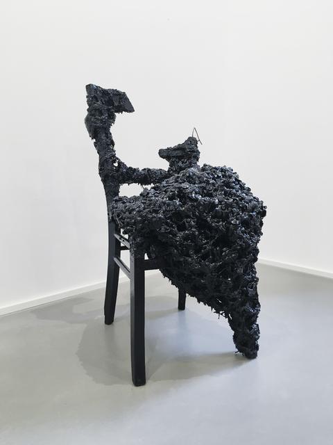 , 'Stuhl DYSFU,' 2018, Galerie Christian Lethert