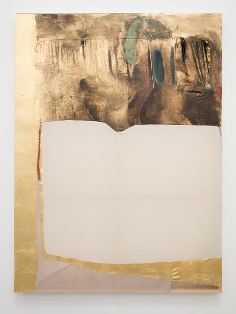 , 'Gilded (reservoir),' 2016, Anat Ebgi