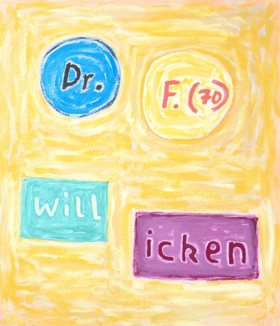 , 'o.T. (Dr. F.),' 2006, Ruttkowski;68