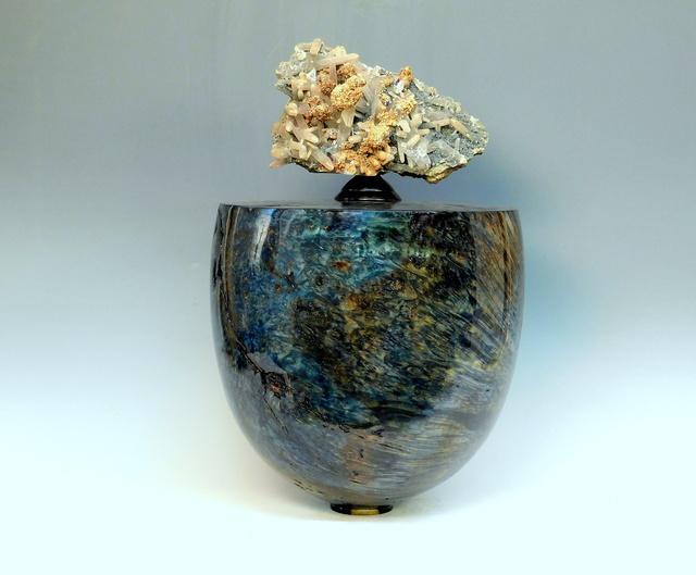 , 'Big Leaf Maple Vessel tinted Blue (Ocean Acer),' 2019, Steidel Contemporary