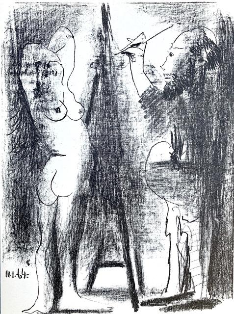 Pablo Picasso, 'Le Peintre et son Modele', 1964, Van der Vorst- Art