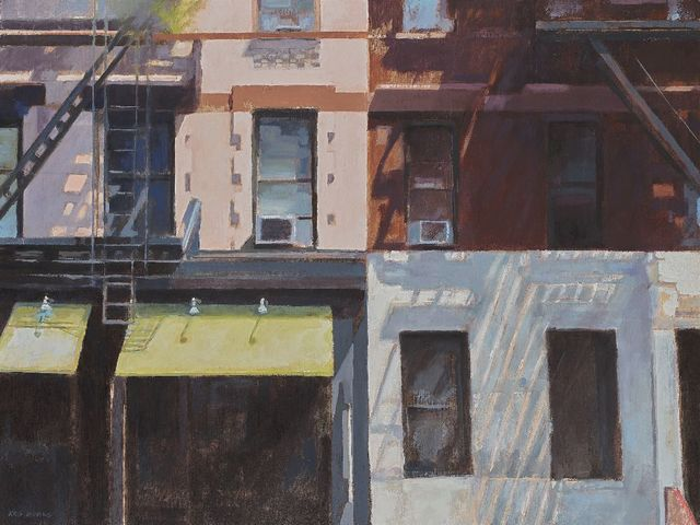 , 'Hell's Awnings,' 2019, Blue Spiral 1