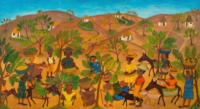 Micius Stephane, 'Haitian Houses ', ca. 1962, ZQ Art Gallery