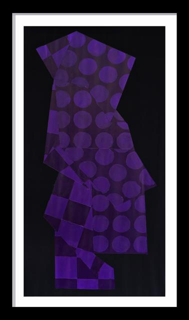 Jon Key, 'Violet Suit Pattern No. 1', 2019, Ross+Kramer Gallery