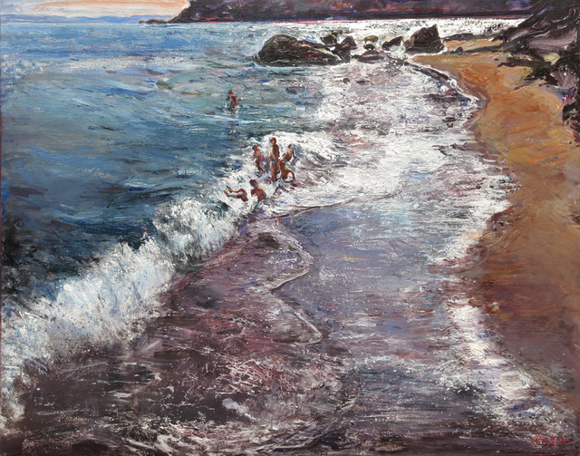 , 'Espai de mar,' , Sala Parés