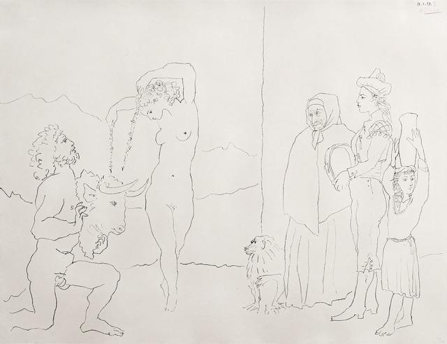 Pablo Picasso, 'La danse des banderilles', 1954, Fairhead Fine Art Limited