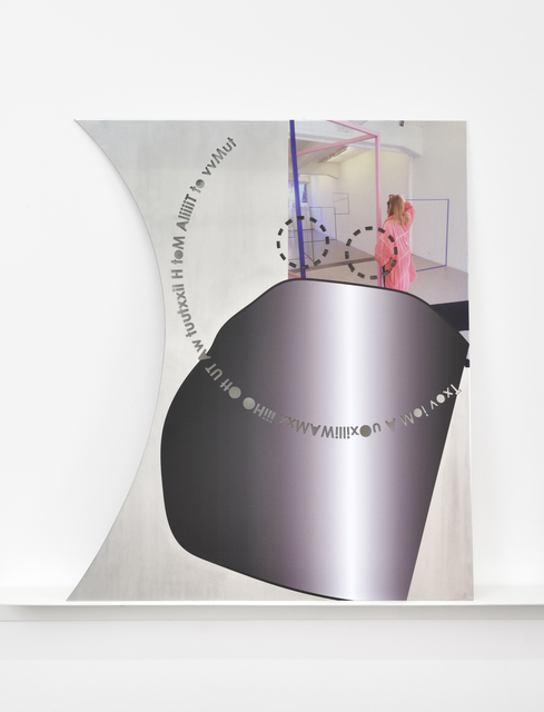 , 'Subtracted Poem (to be able to say),' , Galerie Mitterrand