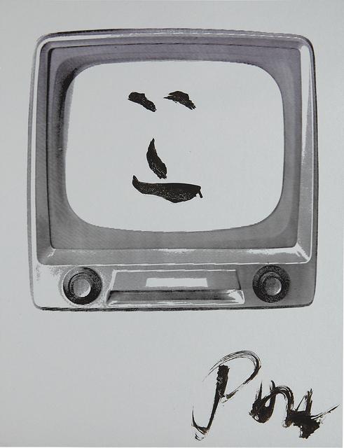 Nam June Paik, 'Smiling Face', 1986, Phillips