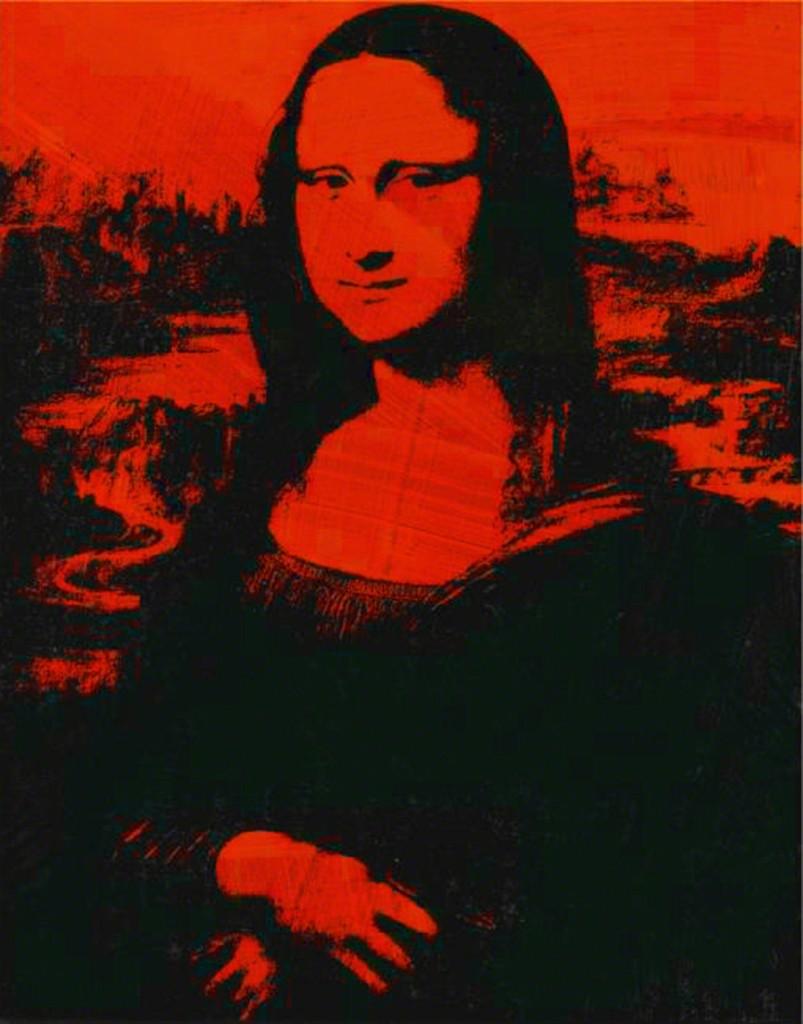 Häufig Andy Warhol | Mona Lisa (1979) | Artsy JD07