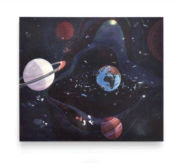 , 'Cosmic Choas,' 2015, Galerie Thaddaeus Ropac