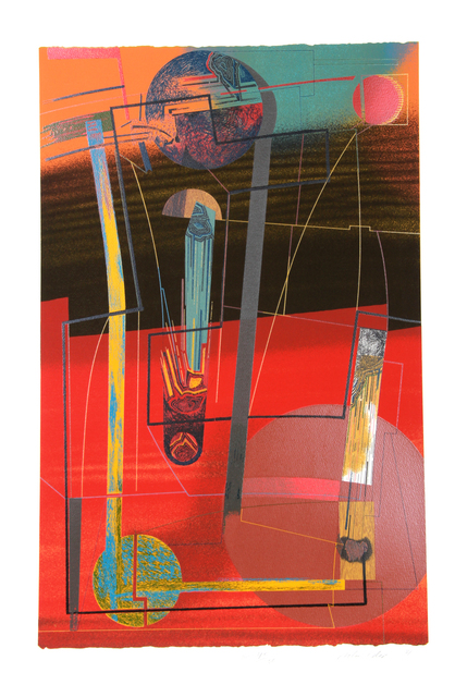 William A. Schwedler, 'Rise to The Occasion', 1981, Print, Screenprint, RoGallery