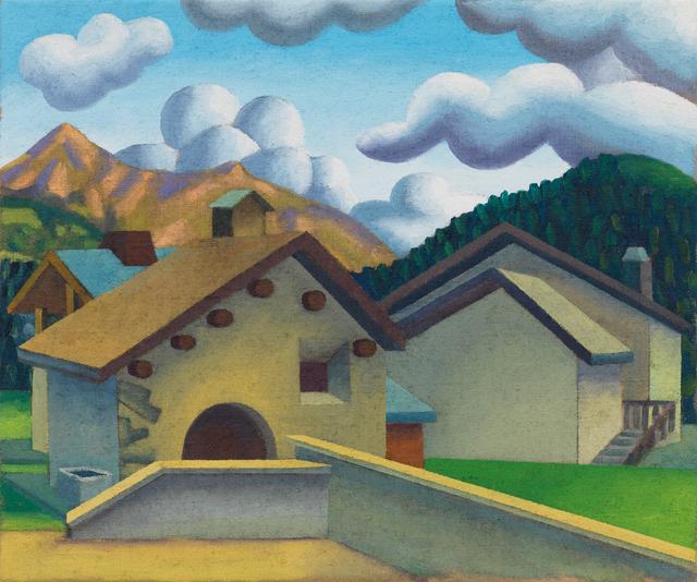 , 'Surlej, Via d'Alp con Piz Nair,' 2011, Galerie Andrea Caratsch