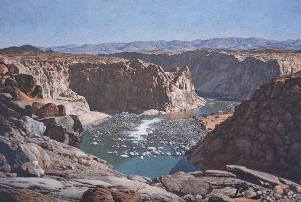 , 'Canyon,' 2016, Alan Kluckow Fine Art