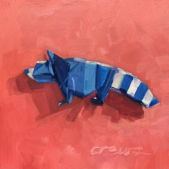 , 'Origami Raccoon,' 2018, LeMieux Galleries