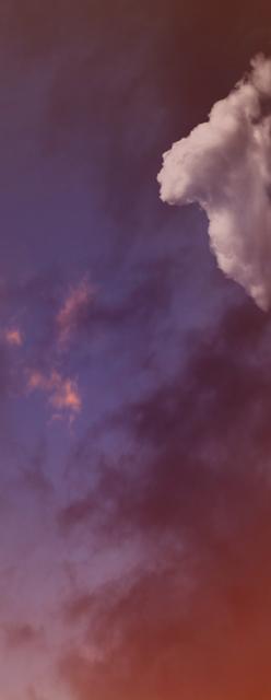 , 'Single Cloud (3),' 2018, Winston Wächter Fine Art