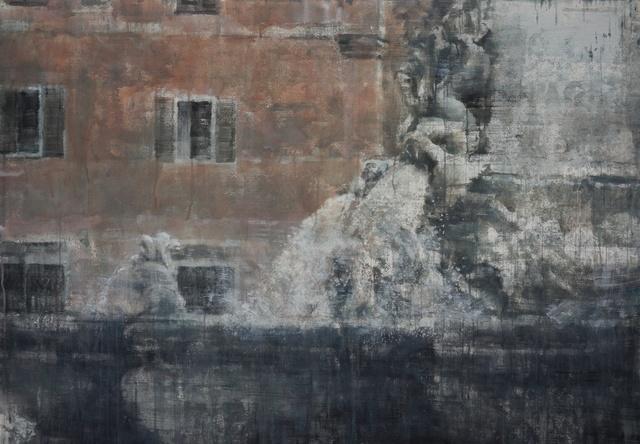 , 'Fountain of Rome II,' 2017, Eckert Fine Art