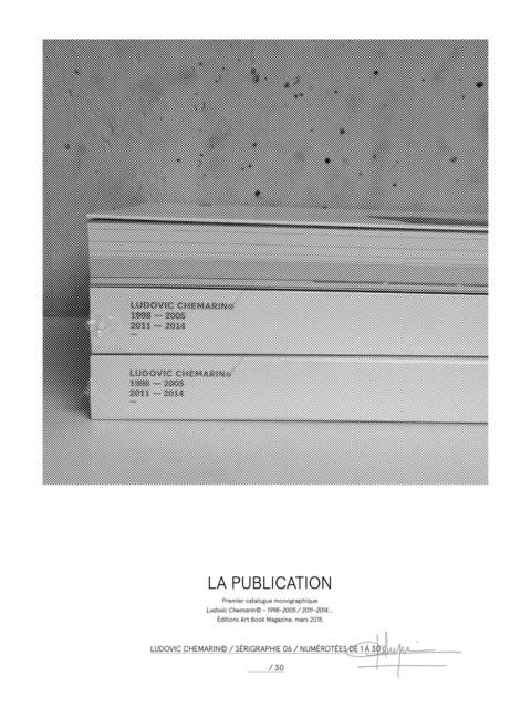 , 'La publication,' 2017, mfc - michèle didier