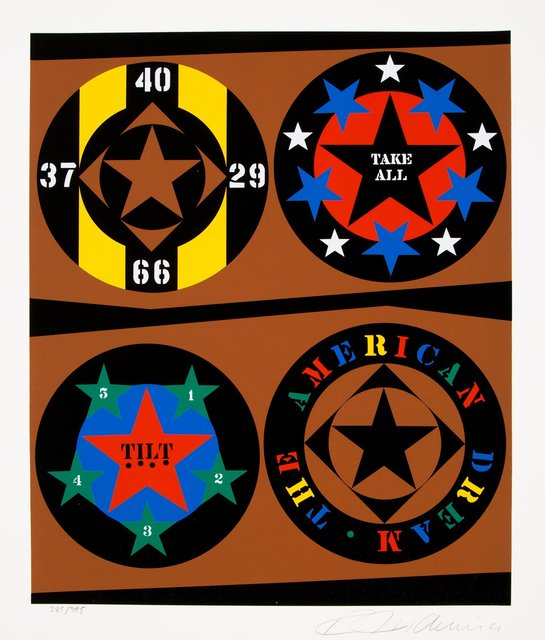 Robert Indiana, 'Tilt, from The American Dream Portfolio', 1997, Heritage Auctions