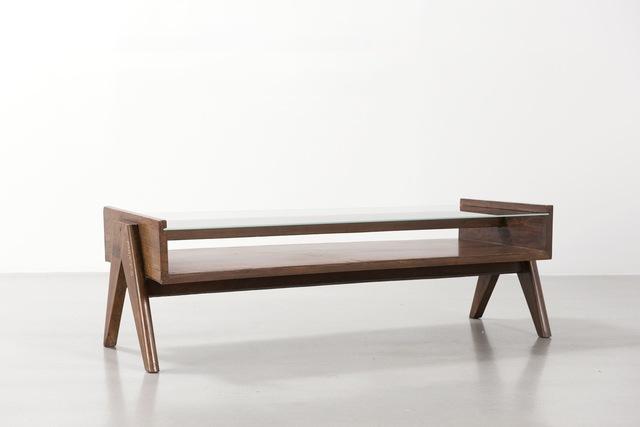 , 'Pierre Jeanneret Coffe table,' 1960, Galerie Patrick Seguin