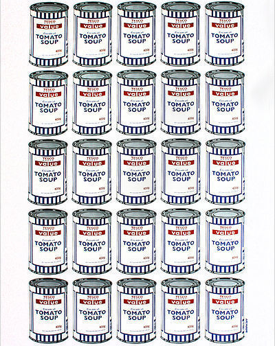 Banksy, 'Soup Cans', 2010, Stowe Gallery