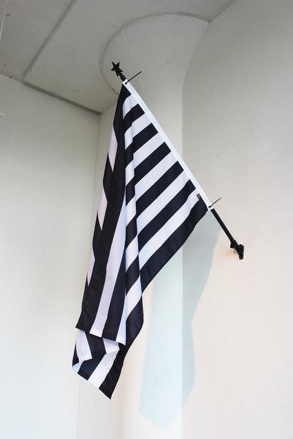 , 'Bars and Stripes,' 2017, ODETTA