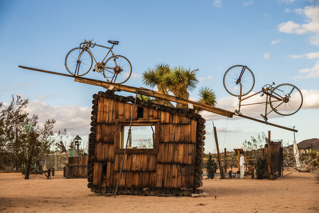 , 'No Contest (bicycles),' 1991, Los Angeles County Museum of Art