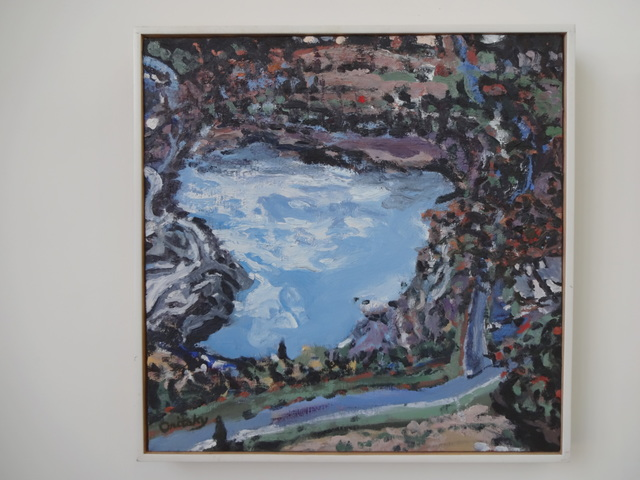 Mimi Oritsky, 'Nockamixon #37', 2017, Painting, Oil on linen, Amos Eno Gallery