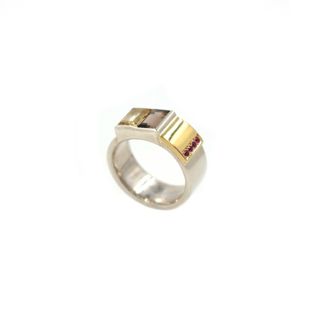 , 'Cubed Squared Ring,' , form & concept
