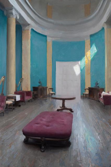 Kenny Harris, 'The Gallery at Lissadell House ', 2019, Painting, Oil on Panel, George Billis Gallery