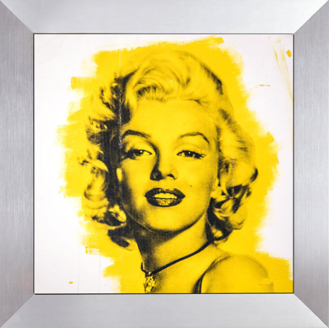 Steve Kaufman, 'Marilyn Monroe Warhol Famous Assistant Oil Painting Canvas 25 x 29', 1994, Modern Artifact