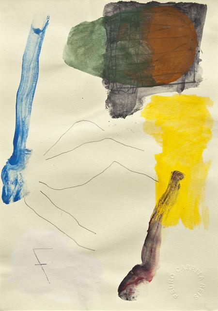 , 'Os desenhos da praia #41,' 2011, Galeria Miguel Nabinho