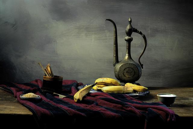 Jean Baptiste Hugo, 'Baked Bananas Ingredients', 2016, Photography, Subligraphie print, Jackson Fine Art