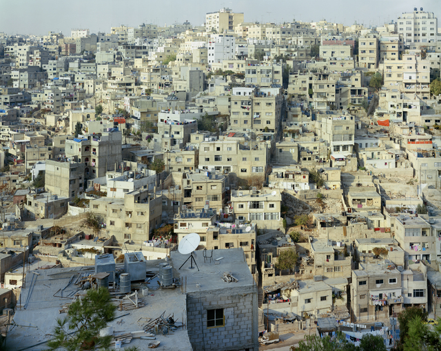 , 'Amman #5, View from Citadel, (Jabal al Qal'a),' 1996, CAMERA WORK