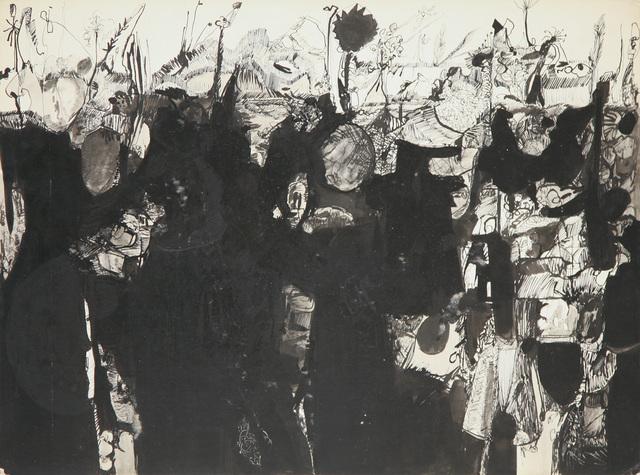 , 'Black Study 9,' 1966, David Richard Gallery
